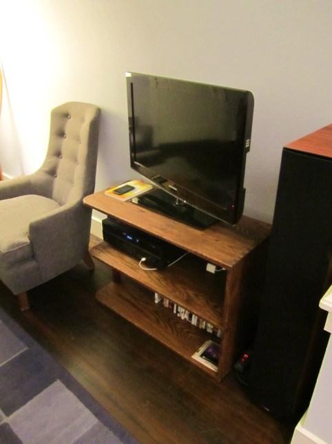 mid-century TV stand