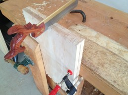 Gang saw dovetail tails