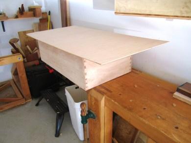marking size of dresser back