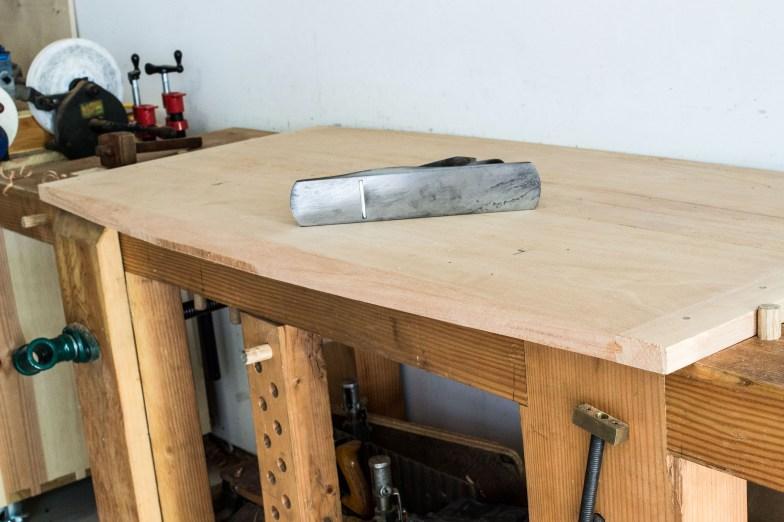 bevel trestle table top