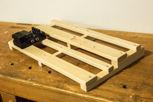 Use Pedal to Measure Pedal Board