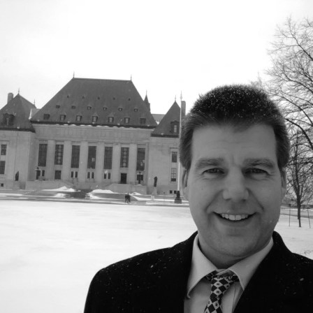 Mick Hassell at Supreme Court of Canada