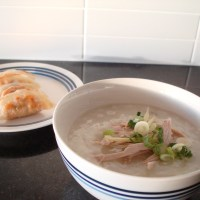The Chinese chicken noodle soup