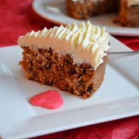 Valentine's Day Carrot Cake