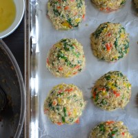 "Vegetarian Wednesday: Quinoa ""Meat"" balls"
