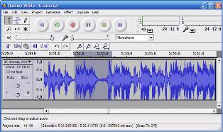 Audacity screen capture
