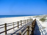 Playas de Montegordo en el Algarve Portugués