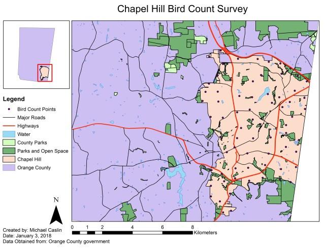 Chapel Hill Bird Count