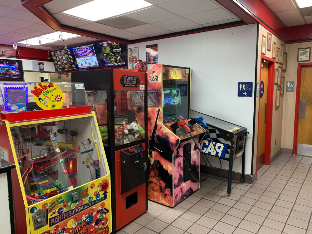 Fast Food Arcade Games at Triangle Drive on McKinley Ave in Fresno, CA