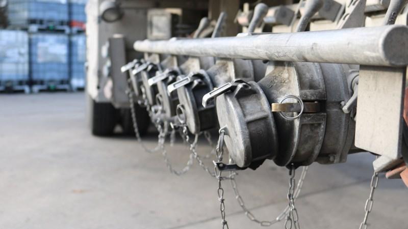 Triangle Gasoline Tanker Fuel and Gas- Sunoco