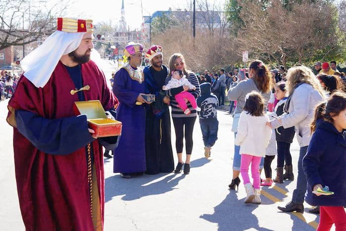 Three Kings Day Parade in Cary