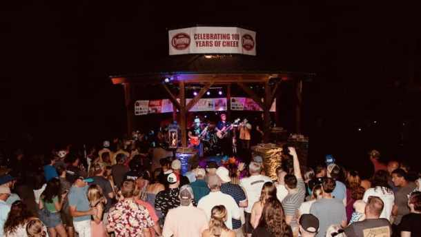 reevestock music festival in elkin nc at nigh