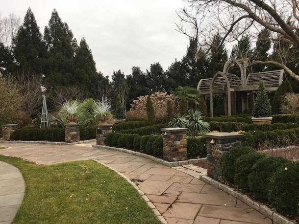 duke gardens winter