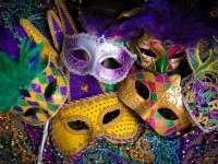 mardi gras masks and beads raleigh