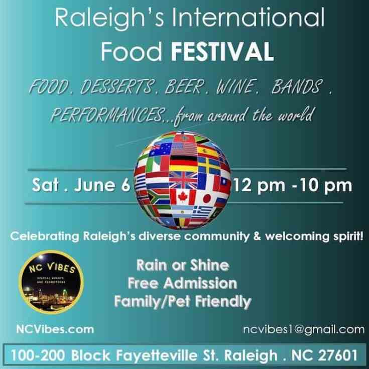 Raleigh's International Food Festival 2020
