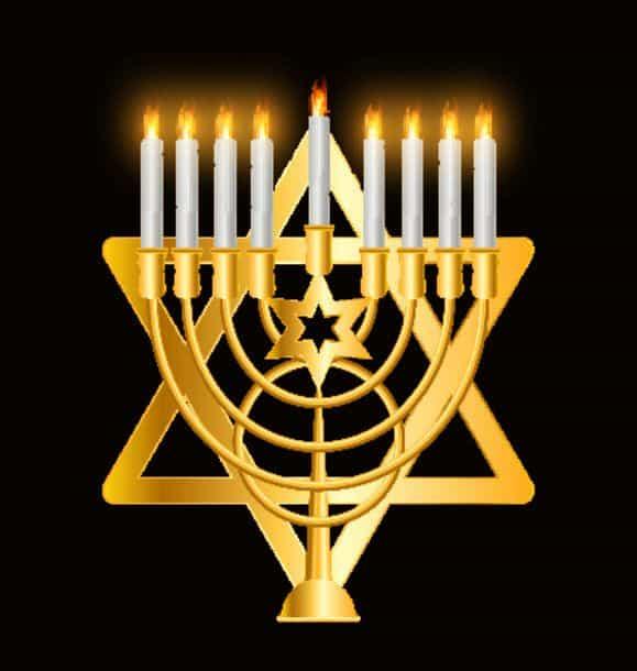 Happy Hanukkah Jewish Background Vector Illustration Hanukkah Is The Name Of The Jewish Holiday Happy Hanukkah Jewish Background Vector Illustr