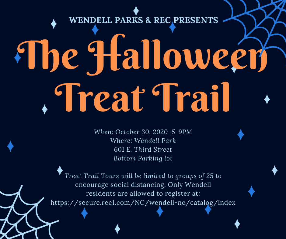 Jacksonville Nc Halloween Events 2020 Wendell Treat Trail   Triangle on the Cheap