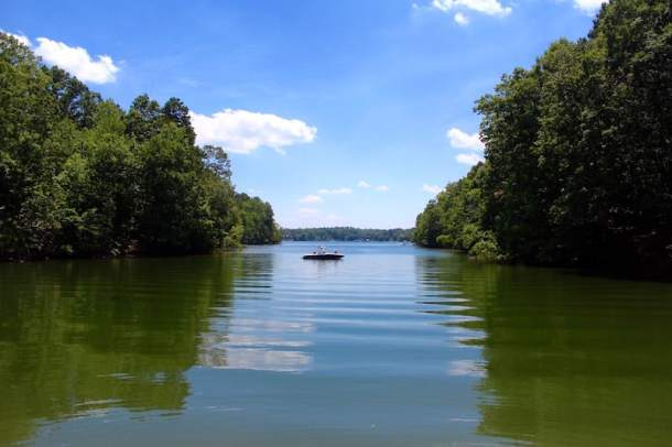Lake Norman State Park lake