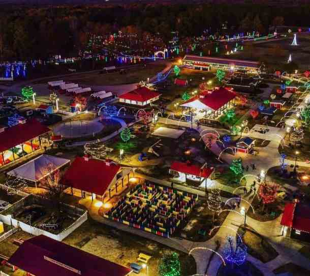 Park Ridge Christmas Lights 2020 Hill Ridge Farms' Festival of Lights returns as a drive through