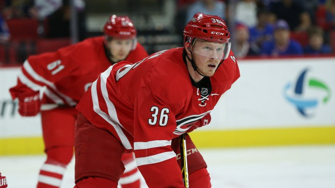 Carolina Hurricanes Announce Recent Signings As Free Agency