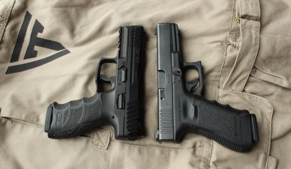 Glock 17 vs HK VP9