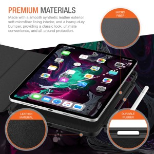 Trianium Case Compatible for 11inch iPad Pro Case (2018)