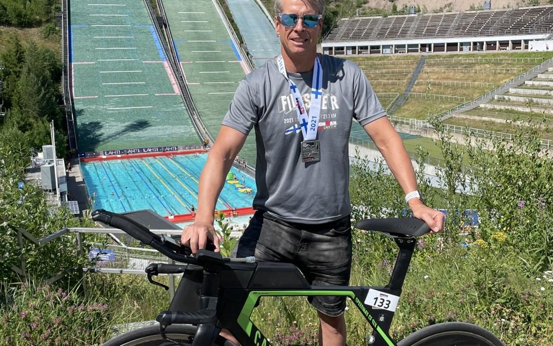 Ralf beim Ironman 70.3 Lahti