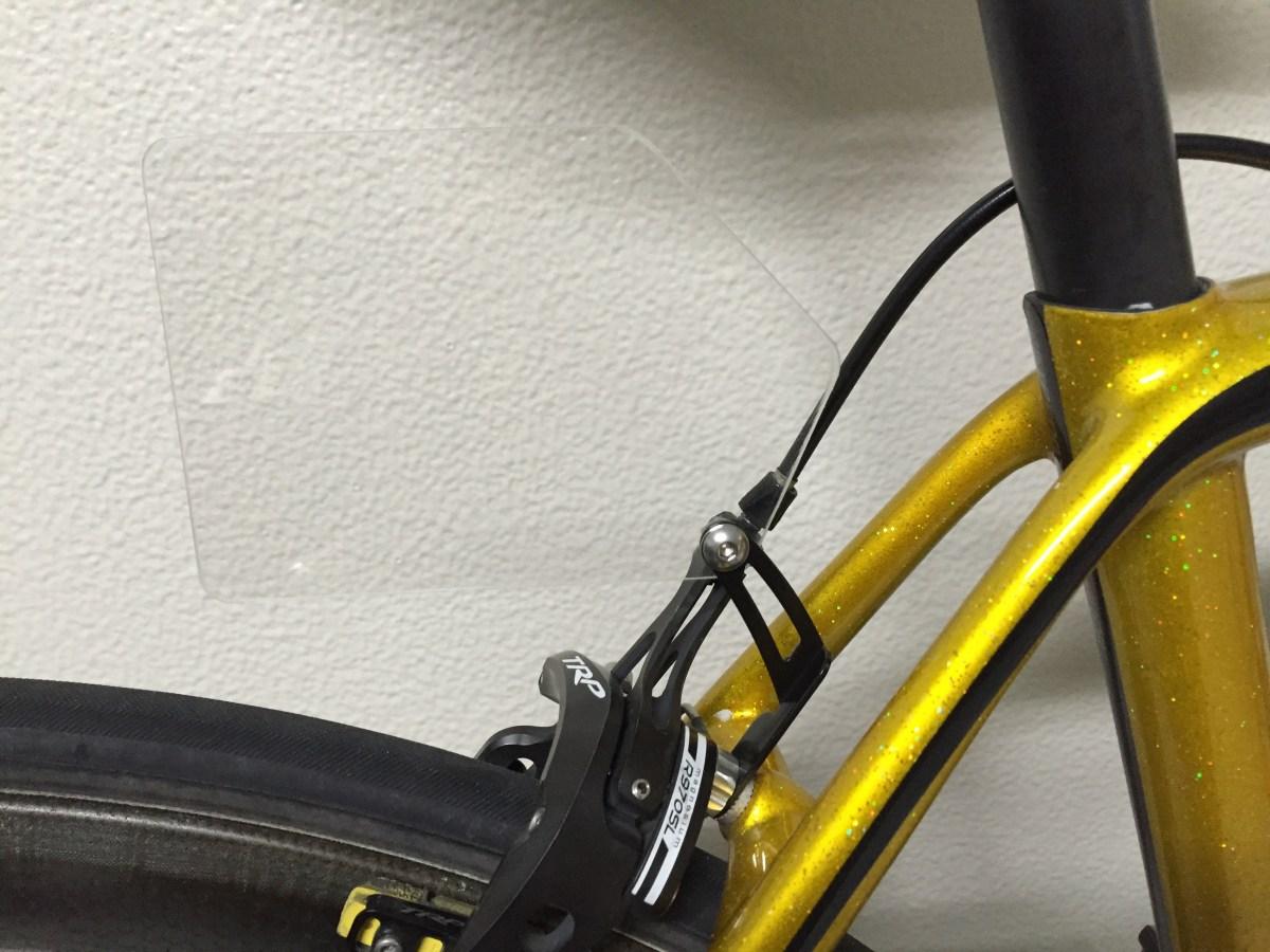 ロードバイクのゼッケンプレート(ナンバープレート)の作り方