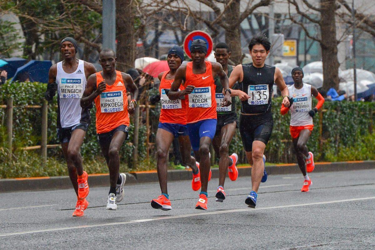 東京マラソン 2019 写真
