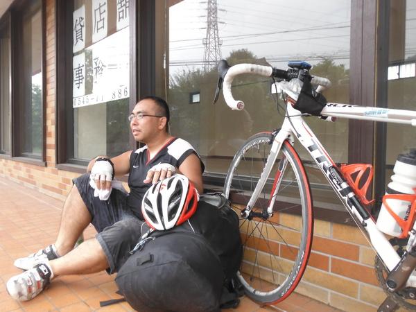 自転車旅行2012夏 四日目 (富士~甲府)