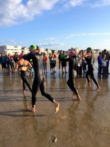 IronMan 70.3 Maine - Race insights - Swim exit