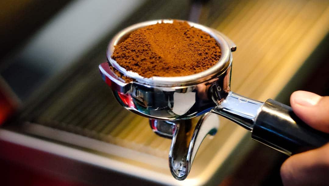 Porte filtre cafe expresso