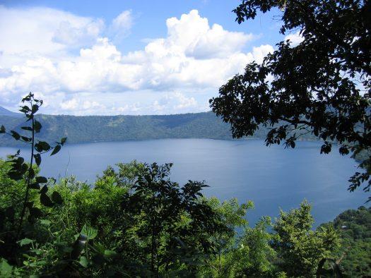 Lake Apoyo, Apoyo Volcano