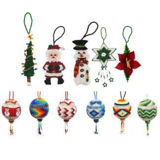 Large Holiday Ornaments
