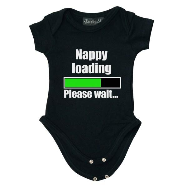 Nappy Loading Baby Grow Onesie
