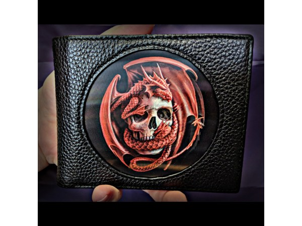 Age of Dragons Red Dragon Lenticular 3D Wallet