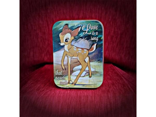 Disney Bambi Keepsake Collectors Tin Half Moon Bay