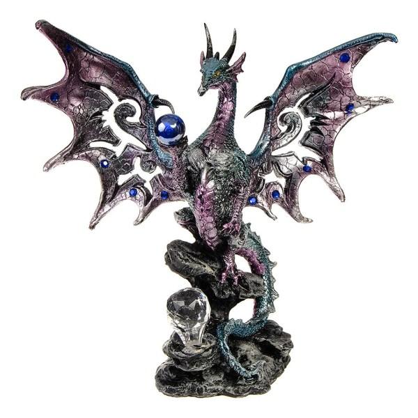Blue Dragon Protector Figure