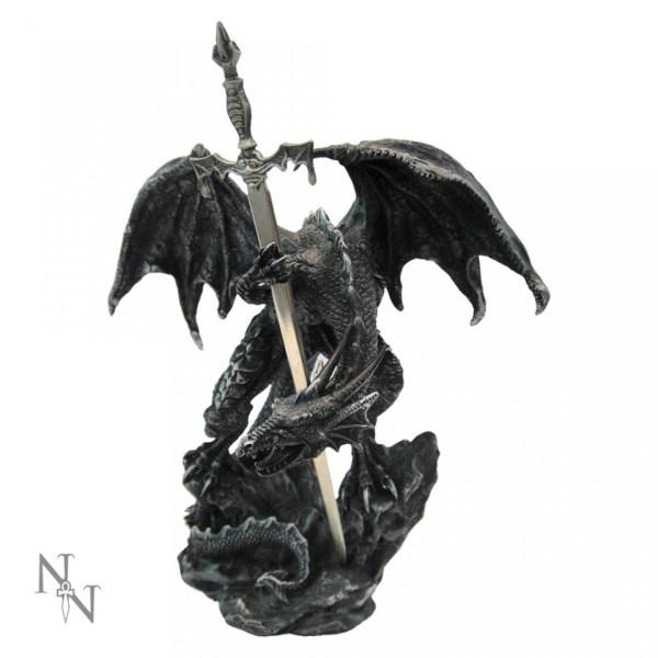 Black Dragon Sword Letter Opener