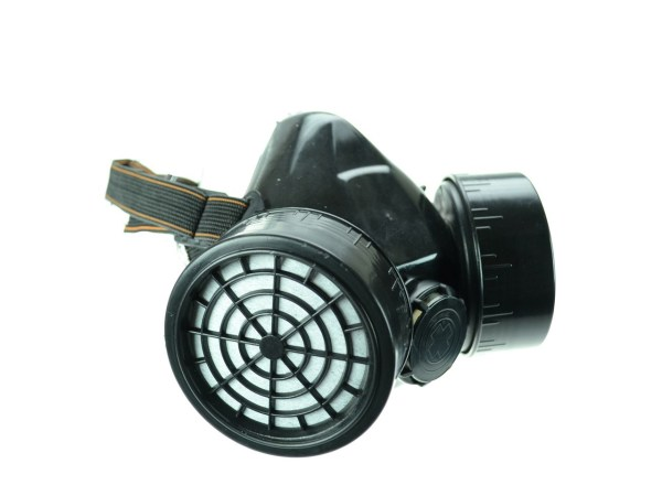 Poizen Industries Double Chamber Filter Dystopian Gas Mask CM2
