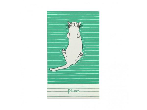 Santoro Felines Matchbook A7 Notebook Cat Feline Fine