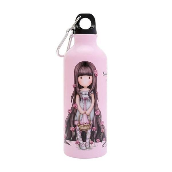 Santoro Gorjuss Metal Water Bottle 500 ml Rosie