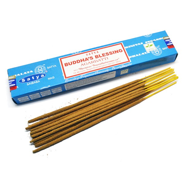 Satya Buddha's Blessing Boxed Incense Sticks Cleansing Aromatherapy Fragrance Aroma