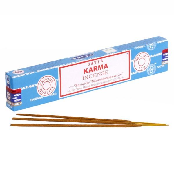 Satya Karma Boxed Incense Sticks Cleansing Aromatherapy Fragrance Aroma