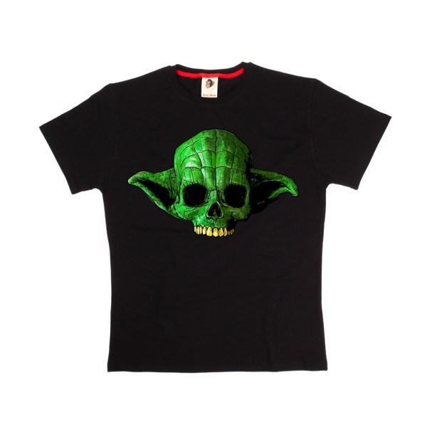 Master Yoda Skull T-Shirt Monkey Business Star Wars Classic Cult Movie Film Television Sci-Fi Jedi