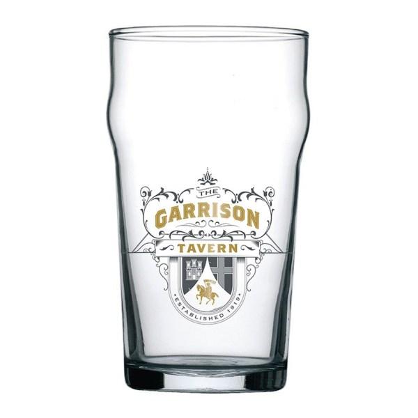 Peaky Blinders Garrison Tavern Pint Glass Iconic British TV