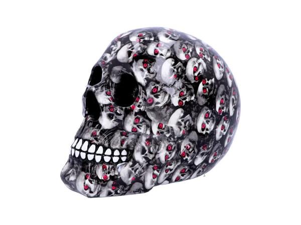 Bloodshot Skull Skeleton Red Eyes Horror Gothic Nemesis Now