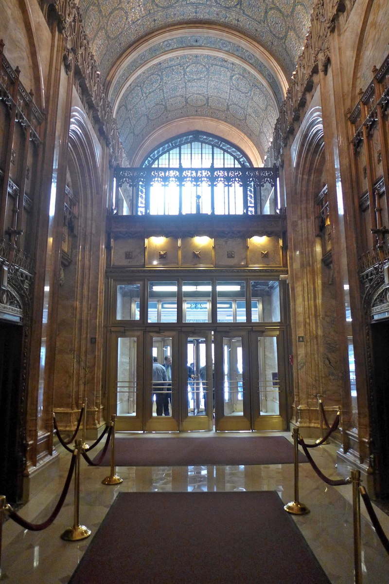 Tribeca Citizen Inside The Woolworth Building S Lobby