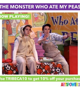 ArtsPower OnLine - The Monster Who Ate My Peas -Available Now through Dec. 31