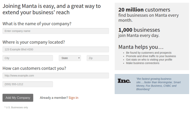 Add-business-to-Manta